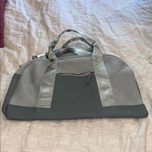 Brand new gray Gym Bag